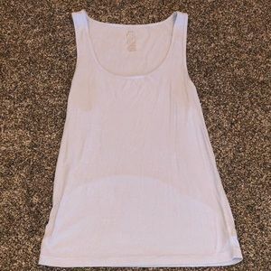 Large aerie tank top